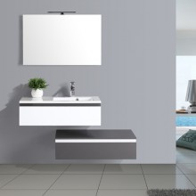German Style Bathroom Storage Glass Bathroom Vanity
