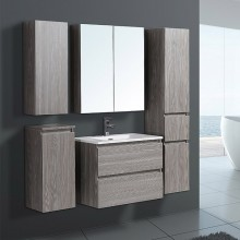 Goldea SYRINX 2016 New Product Bathroom Cabinet With Cabinet Light