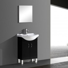 500mm Bathroom Corner Cabinet with Stainless Steel Feet