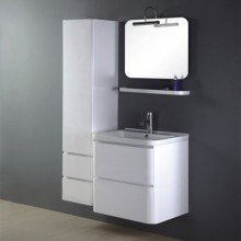 600mm Painting Washbasin Cabinet Design Made in China