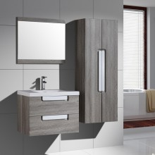 Europe Style Grey Oak Color Bathroom Vanity