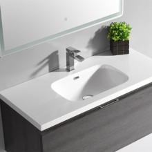 Square bathroom washing basin, above counter basin washbasin art basin price