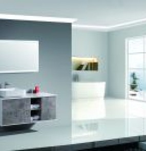 2018 New bathroom vanity cabinets for  Villa Project