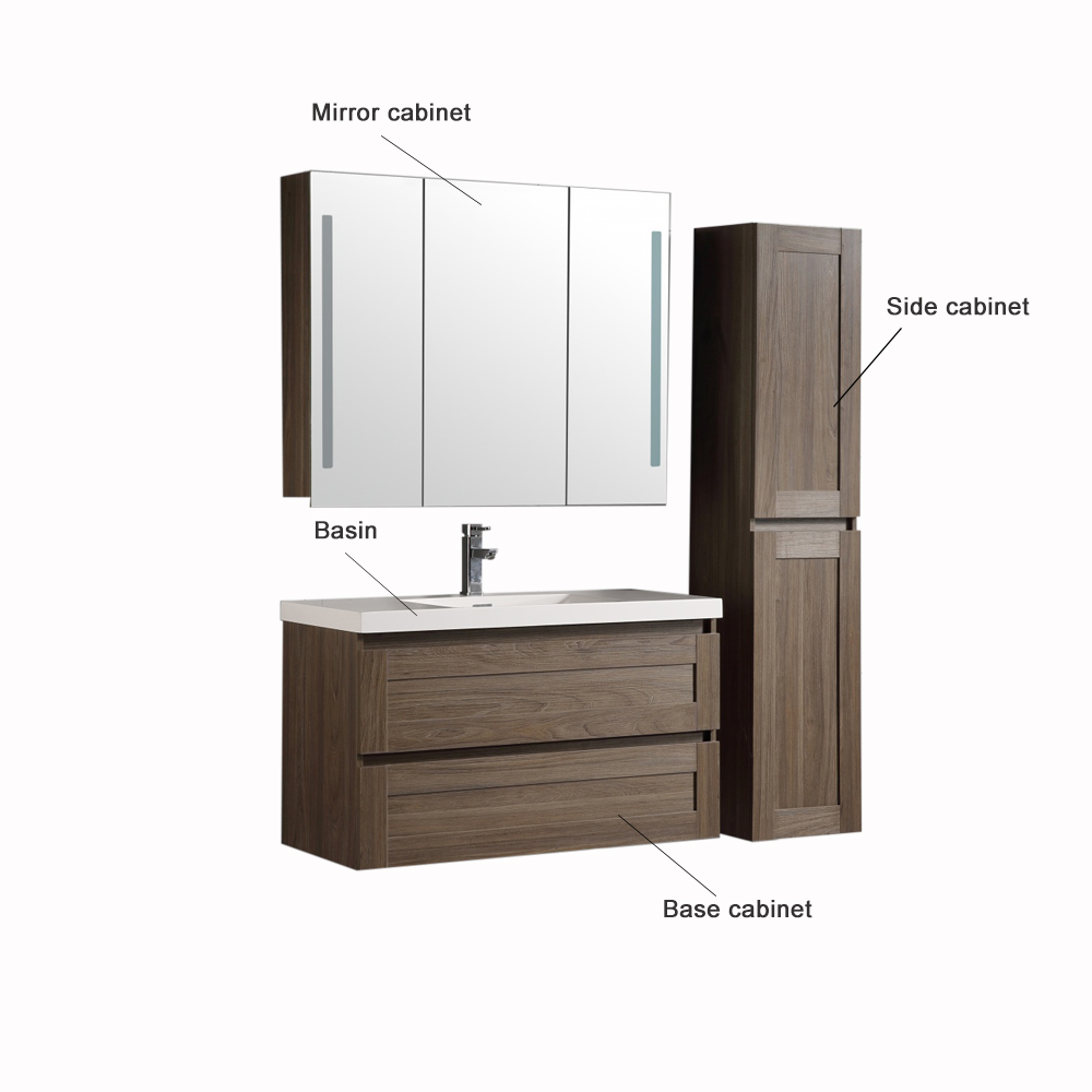 Bathroom cabinet WITH 1000MM